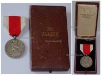 Belgium WW1 National Alimentation Relief Silver Civil Military Medal Belgian Decoration WWI 1914 1918 Great War Award by H. Walravens Cased