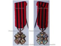 Belgium WWI Bronze Civil Medal of Long Service in State Administration 5th Class MINI