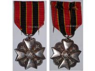 Belgium WW1 Civil Decoration Bravery Devotion Philanthropy Silver Medal Belgian Award WWI 1914 1918