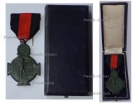 Belgium WWI Yser Battle Commemorative Cross 1914 1918 Boxed by Galere