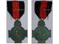 Belgium WW1 Yser Cross Commemorative Military Medal 1914 1918 Commemorative Belgian Decoration WWI