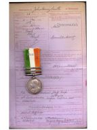 Britain King's South Africa Military Medal Bars 1901 1902 British Decoration NCO Staff Sergeant RAMC Boer War 1899