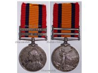 Britain Queen's South Africa Medal QSM bars Transvaal Cape Colony Rifle Brigade Prince Consort's Own British Infantry Boer War 1899