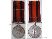 Britain Queen's South Africa Medal QSM to NCO Sergeant Manchester Regiment Boer War 1899