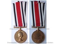 Britain Special Constabulary Long Service Medal to Police Sergeant Queen Elizabeth II since 1953