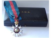 Britain WWI Companion Order Saint St Michael George CMG Boxed by Garrard