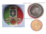 Britain Italy WWI Patriotic Badge for the Support of the Italian Red Cross