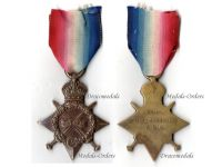 Britain WW1 Star 1914 -15 Military Medal NCO Royal Garrison Artillery RGS 1915 WWI 1914 1918 British Great War