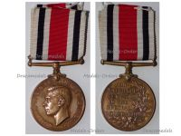 Britain WWII Special Constabulary Long Service Medal King George VI 1937 1948