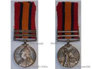 Britain Queen's South Africa Military Medal 27th Bn Imperial Yeomanry Bars 1902 Cape Colony British Decoration Cavalry Boer War 1899