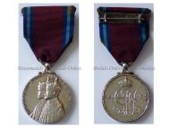 Britain Silver Jubilee Medal 1910 1935 King George V Queen Mary Military Civil Decoration British Commonwealth