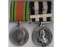 Britain WW2 Order St John Jerusalem Maltese Cross bar Defence 2 Military Medals set Red Cross WWII 1939 1945