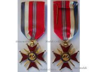 France Britain WW2 Franco British Association Knight's Cross Military Medal French Decoration 1939 1945