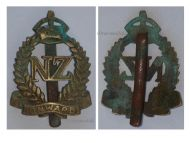 New Zealand WW1 Cap Badge ANZAC Expeditionary Force Medal 1914 Military British