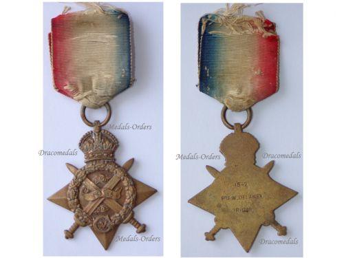 Britain WWI Star 1914 (Mons Star) Irish Guards