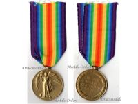 Britain WWI Victory Interallied Military Medal Gloucestershire Regiment (The Glosters)