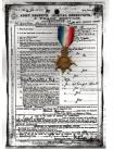Britain WW1 Star 1914 -15 Military Medal South Lancashire Regiment 1915 WWI 1914 1918 British Great War