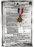 Britain WW1 Star 1914 -15 Military Medal South Lancashire Regiment 1915 WWI 1914 1918 British Great War
