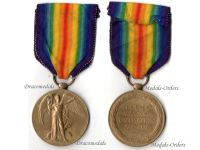 Britain WW1 Victory Interallied Military Medal Sapper RE Royal Engineers WWI 1914 1918 British Decoration Great War