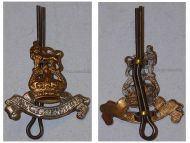 Great Britain WWI Royal Army Pay Corps Collar Badge RAPC King's Crown