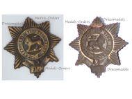 Great Britain WW1 Worcestershire Light Infantry Regiment Cap Badge