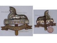 Great Britain WW2 Lincolnshire Infantry Regiment Cap Badge WWII 1939 1945 British Royal Army Insignia