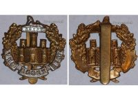 Great Britain WW2 Essex Regiment Cap Badge WWII 1939 1945 British Royal Army Insignia