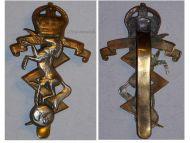 Great Britain Royal Electrical Mechanical Engineers REME Cap Badge King's Crown 1947 1952 British Insignia
