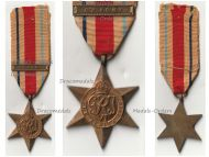 Britain WWII Africa Star with 8th Army Clasp