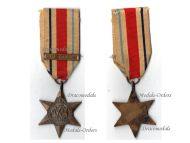 Britain WW2 Africa Star Military Medal 1st Army bar WWII 1939 1945 British Campaign Decoration King George VI