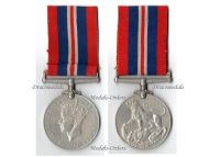 Britain WW2 Commemorative War Medal 1939 1945 British Military Campaign Decoration Award King George VI