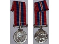 Britain WW2 Commemorative War Medal 1939 1945 British Military Campaign Decoration Award George VI MINI