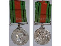 Britain WW2 Defence Medal 1939 1945 British Defense Military Campaign Decoration Award King George VI