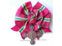 Bulgaria Commemorative Medal Proclamation Bulgarian Kingdom 1908 by P. Telge on Ladies Bow