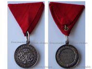Bulgaria Silver Commemorative Medal for the Serbian Bulgarian War of 1885 for Combatants
