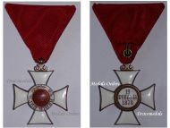 Bulgaria WW1 Royal Order St Alexander 5th Class 1881 Military Medal Bulgarian Decoration Great War 1914 1918