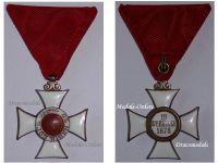 Bulgaria WW1 Royal Order St Alexander 5th Class 1881 Military Medal Bulgarian Decoration Great War 1914 1918