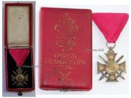 Bulgaria WW1 Royal Order St Alexander 6th Class 1881 Military Medal Bulgarian Decoration Great War 1914 1918