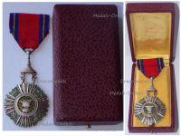 Cambodia Royal Order of Sahametrei Knight's Star Boxed by Arthus Bertrand