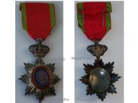 France WW1 Royal Order Cambodia Knight Military Medal WWII French Protectorate Decoration 1914 1988 Silver Hallmarked Award