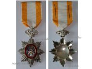 France WW2 Royal Order Cambodia Knight Military Medal WWII French Protectorate Decoration 1945 1948 Award