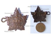 Canada WWI Collar Badge of the Canadian Expeditionary Forces