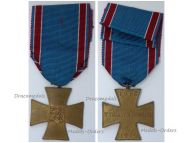 Czechoslovakia WW1 Cross Volunteers Combatants Medal WWI 1918 1919 Czech Decoration Great War