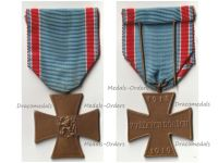 Czechoslovakia WWI Volunteer Combatants Cross 1918 1919