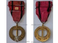Czechoslovakia WWI Czechoslovak Army Abroad Medal 1939 1945 with Bar USSR