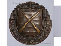 Czechoslovakia WW2 Infantry Marksman Badge Czech Army Decoration WWII 1939 1945