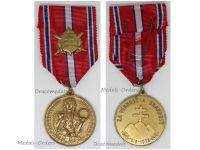 Czechoslovakia WW2 Loyal Defense Volunteers 1918 1938 Military Medal WWII Czechoslovakian Slovakia Decoration