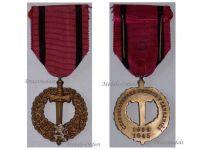 Czechoslovakia WWII Czechoslovak Army Abroad Medal 1939 1945
