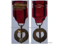 Czechoslovakia WWII Czechoslovak Army Abroad Medal 1939 1945 with Bars France & Great Britain to Pilot