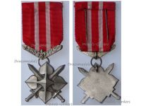 Czechoslovakia WWII Scouts Cross for Homeland 1939 1945 Silver 2nd Class